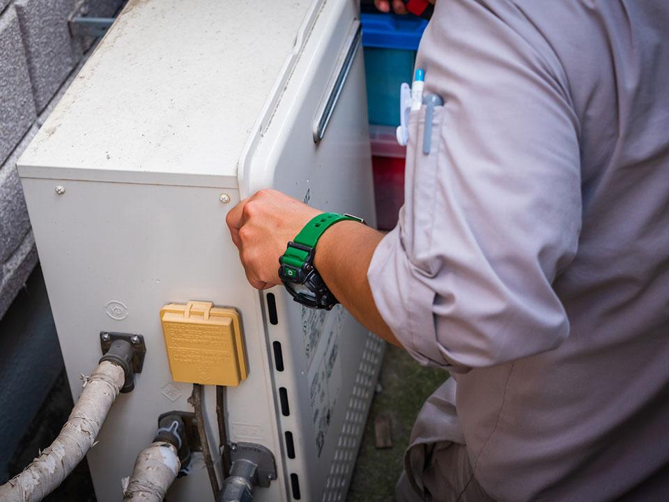 ボイラー・給湯器の耐用年数は約10年